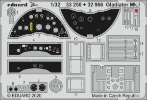 Eduard 33250 Gladiator Mk.I for ICM 1/32