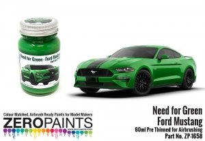 Zero Paints 1658 Ford Mustang - Need for Green 60ML
