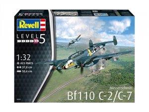 Revell 04961 Messerschmitt Bf110 C-2 / C-7 1/32