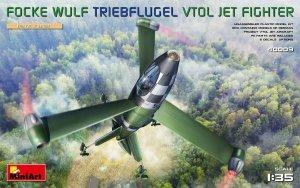 MiniArt 40009 Focke Wulf Triebflugel (VTOL) Jet Fighter 1/35