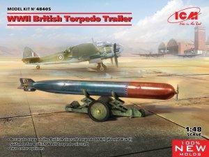 ICM 48405 WWII British Torpedo Trailer 1/48