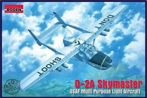 Roden 620 O-2A Skymaster USAF Multi Purpose Light Aircraft (1:32)