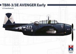 Hobby 2000 72035 TBM-3/3E AVENGER Early ( Hasegawa ) 1/72