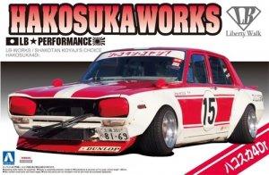 Aoshima 05126 Hakosuka Works LB Performance LB-Works/Skakotan Koyaji´s Choice Nissan Skyline 4Door 1/24