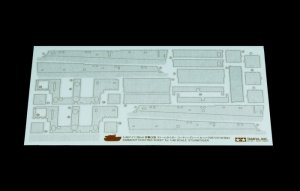 Tamiya 12672 Zimmerit Coating Sheet Sturmtiger (1:48)