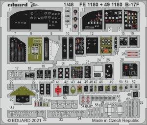 Eduard FE1180 B-17F HKM 1/48