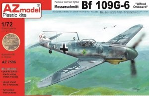AZ Model AZ7596 Bf 109G-6 Alfred Onboard (1:72)