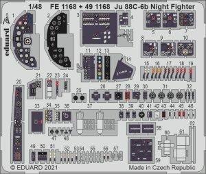 Eduard FE1168 Ju 88C-6b Night Fighter ICM 1/48