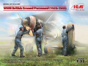 ICM 32107 WWII British Ground Personnel (1939-1945) 1/32