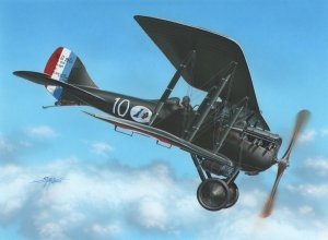 Azur FR008 Nieuport NiD 29 France + Belgium (1:72)