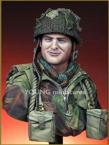 oung Miniatures YM1834 British Paratrooper Northwest Europe WWII 1/10
