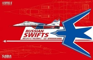 Great Wall Hobby S4814 Russian Swifts MiG-29 9-13 Fulcrum-C 1/48