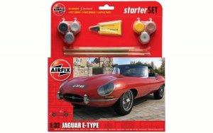 Airfix 55200 Jaguar E-Type Starter Set 1:32
