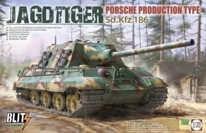 Takom 8003 Jagdtiger Sd.Kfz. 186 Porsche Production type 1/35