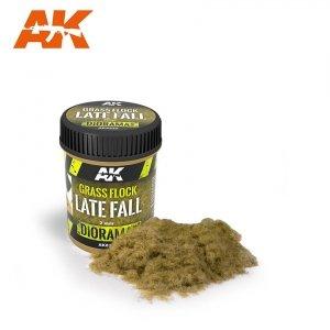 AK Interactive AK8222 GRASS FLOCK 2MM LATE FALL / Posypka trawa