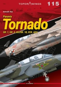 Kagero 7115 Panavia Tornado GR. 1, GR. 4, IDS/GR. 1B, ECR, ADV EN/PL