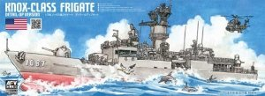 AFV Club SE70003 Knox-Class Frigate Detail-Up Version 1/700
