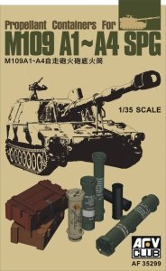 AFV Club 35299 Propellant Containers for M109A1-A4 SPG 1/35