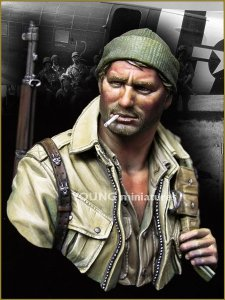 Young Miniatures YM1841 US Paratrooper WWII 17th Airbone Division 1/10
