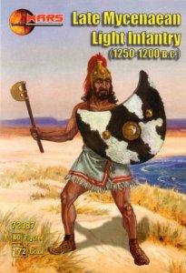 Mars 72087 Late Mycenaean Light Infantry (40figs) (1:72)