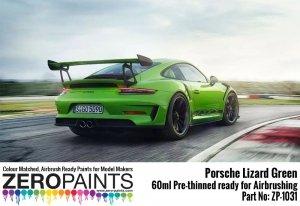 Zero Paints 1031-LIZARD Porsche 911 GT3 RS Lizard Green 60ML