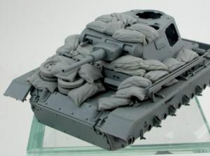 Panzer Art RE35-649 DAK Pz. Bef. Wg III Ausf. H Sand armor 1/35