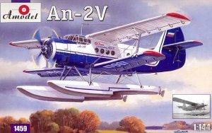 A-Model 01459 Soviet Antonov AN-2V floatplane 1:144
