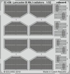 Eduard 32436 Lancaster B Mk. I radiators 1/32 HONG KONG MODELS