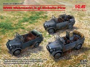 ICM DS3513 WWII Wehrmacht le.gl.Einheitz-Pkw 1/35