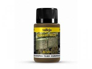 Vallejo 73801 Weathering Effects 40ml - European Splash Mud