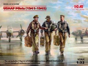 ICM 32104 USAAF Pilots (1941-1945) 3 figures 1/32