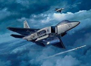 Revell 03858 Lockheed Martin F-22A Raptor 1/72