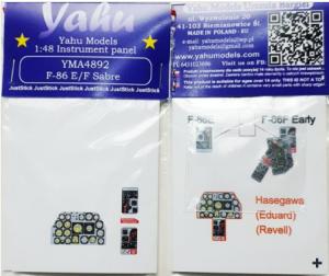 Yahu YMA4892 F-86 E/F 1/48