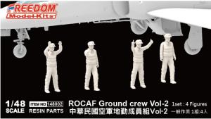 Freedom 148002 ROCAF Ground crew Vol-2 1/48