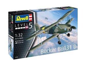 Revell 03886 Bucker Bu-131 Jungmann 1/32