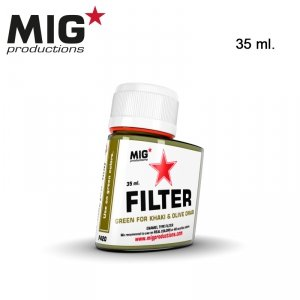Mig Productions F420 GREEN FOR KHAKI & OLIVE DRAB 35ml