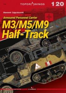 Kagero 7120 Armoured Personnel Carrier M3/M5/M9 Half-Track EN/PL
