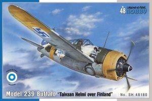 Special Hobby 48180 Model 239 Buffalo Taivaan Helmi over Finland (1:48)