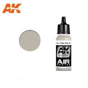 AK Interactive AK 2163 RAL 7044 SILK GREY (SEIDENGRAU) 17ml
