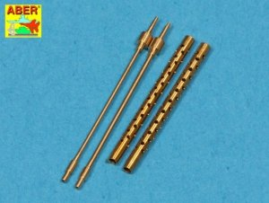 Aber A48 013 Set of 2 barrels for Type 3 MG 1/48