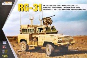 Kinetic K61010 RG-31 MK3 CANADIAN ARMY 1/35