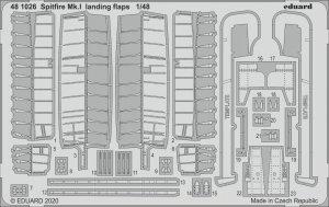 Eduard 481026 Spitfire Mk. I landing flaps 1/48 EDUARD