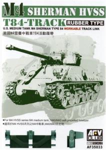 AFV Club 35033 M4 Sherman HVSS T84 Workable 1/35