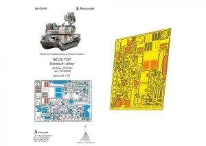 Microdesign MD 035402 9K330 TOR basic detail set Panda 1/35