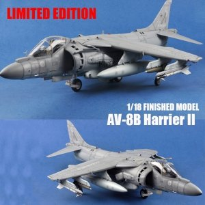 I Love Kit 60027 AV-8B Harrier Readybuilt & Painted 1/18