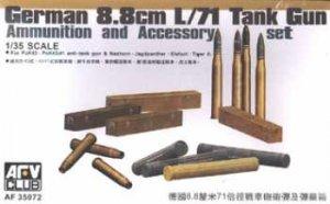 AFV Club 35072 8.8cm L/71 Ammunition and Accessories 1:35
