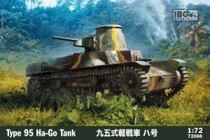 IBG 72088 Type 95 Ha-Go Tank 1/72