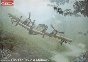 Roden 406 OV-1A / JOV-1A Mohawk 1/48