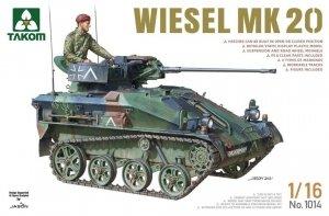 Takom 1014 Wiesel MK 20 1/16