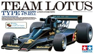 Tamiya 20065 Team Lotus Type 78 1977 (with Photo-Etched Parts) (1:20)